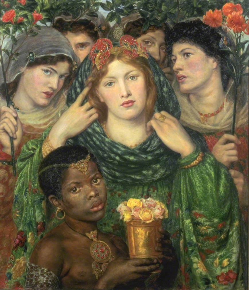Rossetti, Dante Gabriel; The Beloved ('The Bride'); Tate; http://www.artuk.org/artworks/the-beloved-the-bride-201562